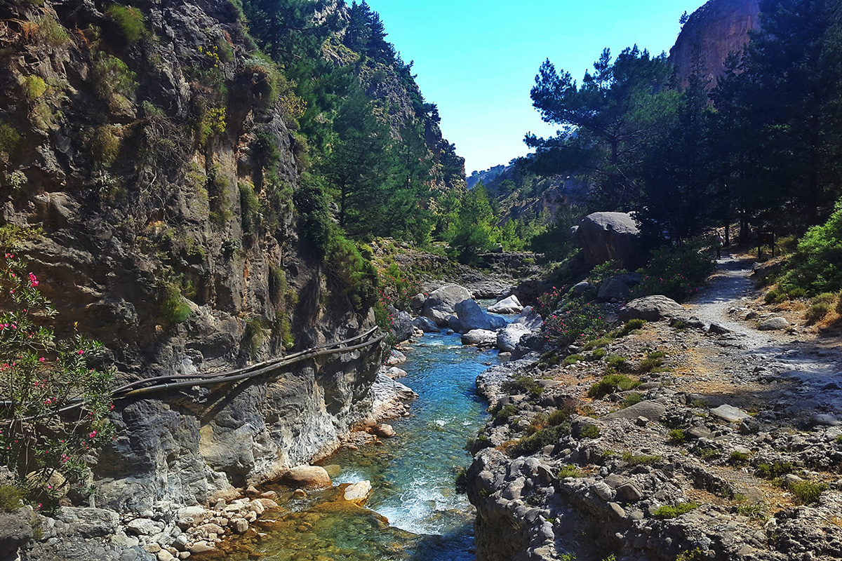 Rethymno Youth Hostel - The gorge of Samaria