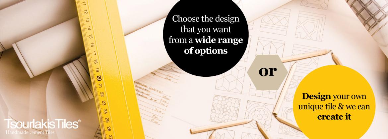 Design your own unique tile - TsourlakisTiles
