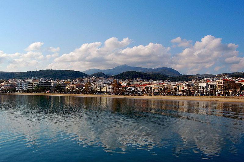 Eltina Hotel - The city of Rethymno..