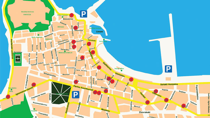 Rethymno guide - Building Management