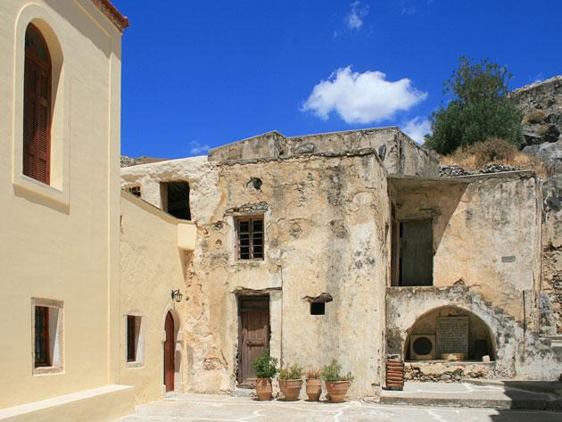 Preveli monastery