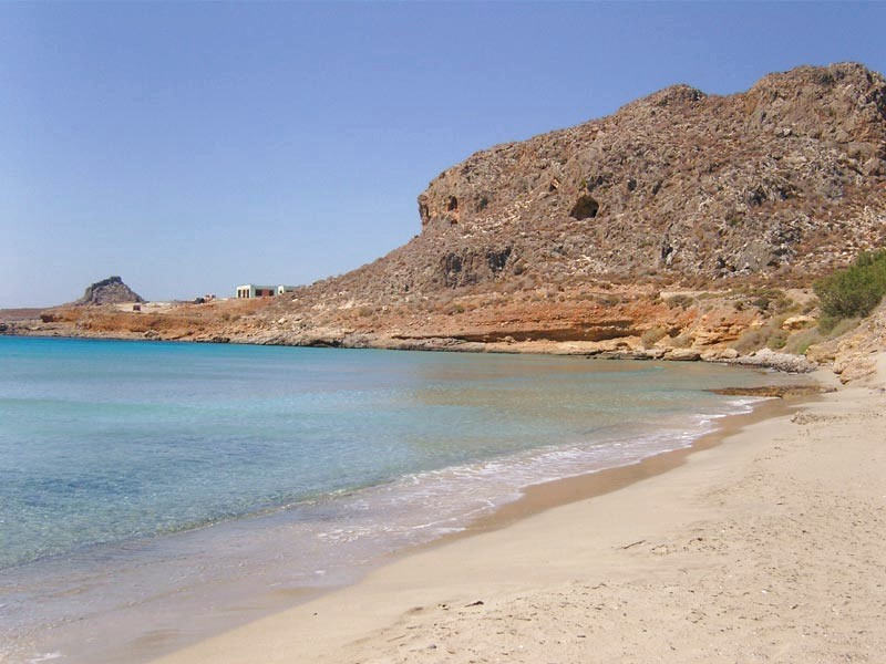 Xerokampos sandy beach. - Xerokampos sandy beach.