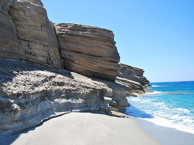 Triopetra beach - South coast