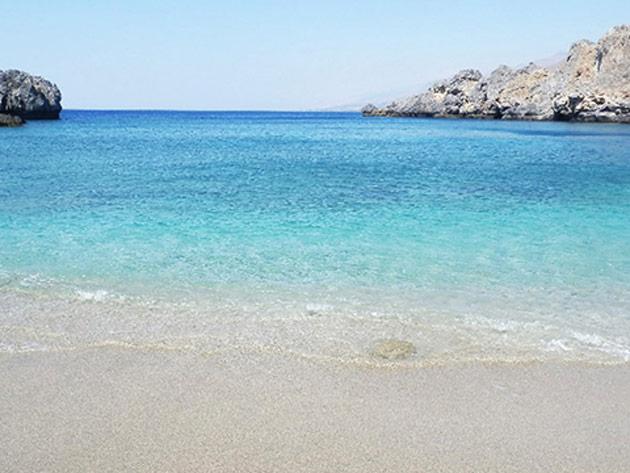 Schinaria beach, south Crete