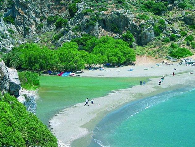 Preveli beach (South coast)