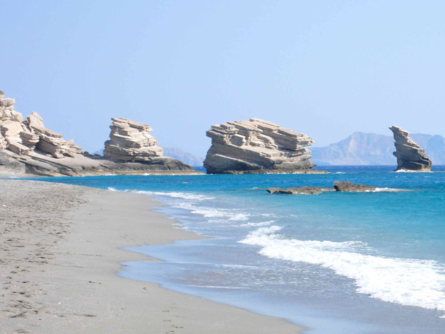 Triopetra beach, South coast