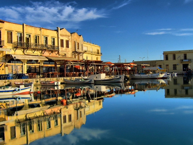 Rethymno old port
