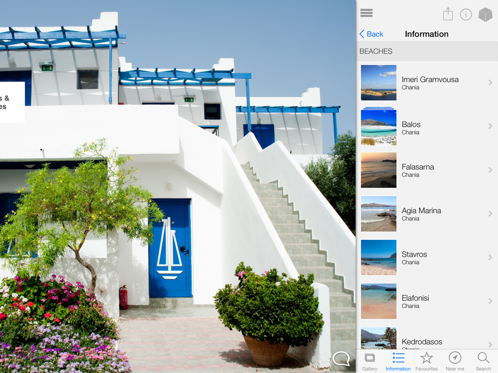 More Crete on our smart app