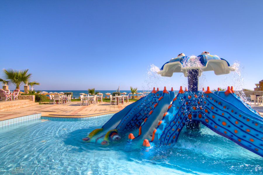 Children Pool With Slides HD