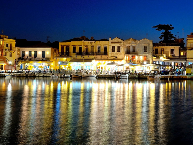 Rethymno's old port