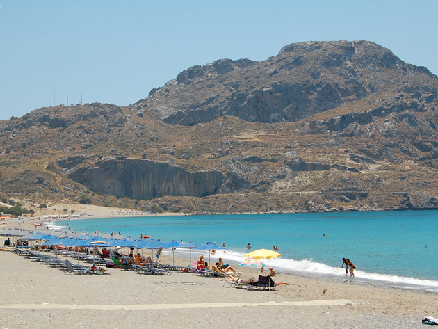 Plakias beach