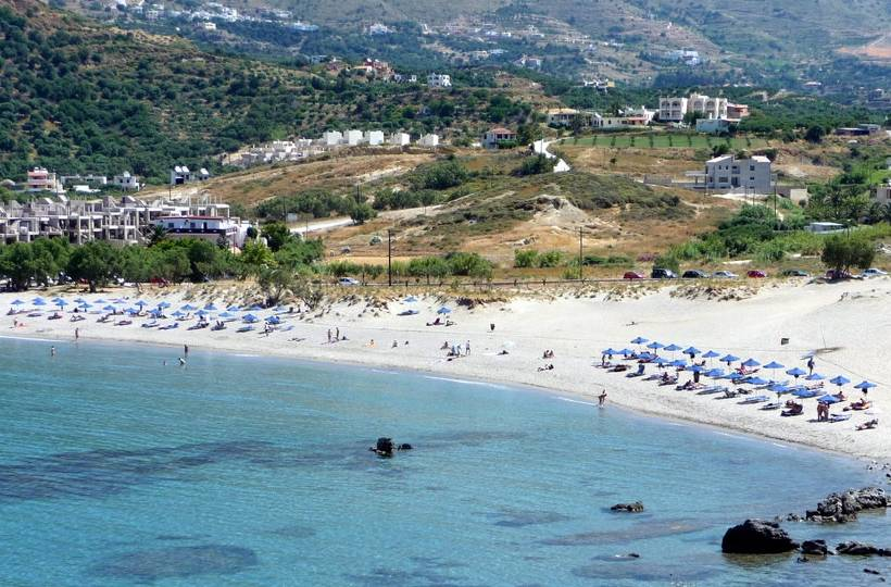 Plakias is a newly developed sea resort. - Plakias is a newly developed sea resort.