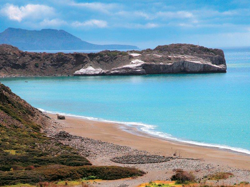 A smaller beach nearby. - A smaller beach nearby.