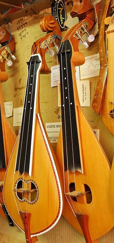 Cretan Lyra is the basic instrument in cretan music. - Cretan Lyra is the basic instrument in cretan music.