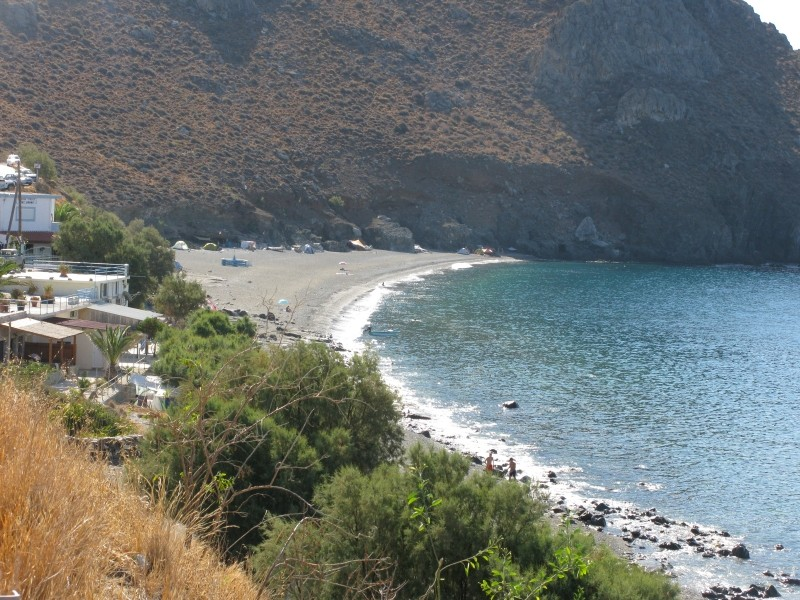 Dytikos (Dyskos) beach where at the east part nudism is allowed. - Dytikos (Dyskos) beach where at the east part nudism is allowed.