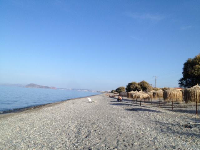 Maleme Beach. - Maleme Beach.
