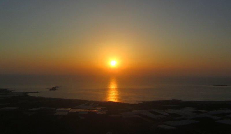 Sunset. - Sunset.