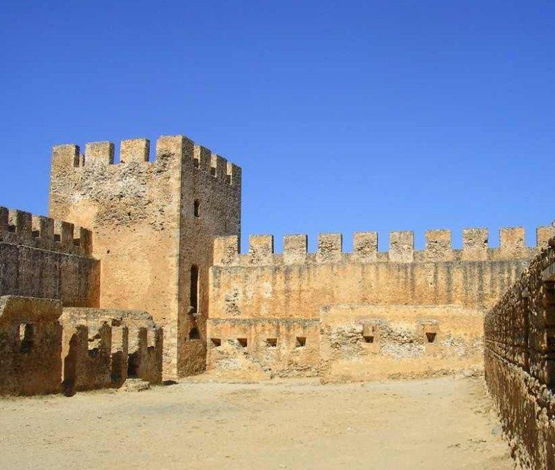 Interior of the castle. - Interior of the castle.