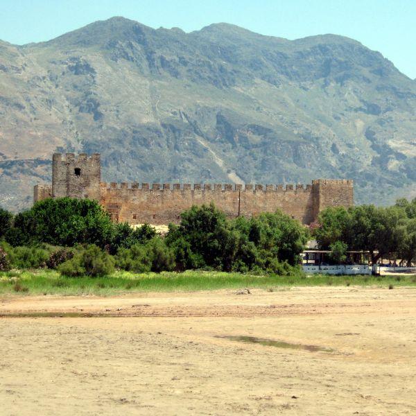 The Venetian Castle built on the beach is impressive. - The Venetian Castle built on the beach is impressive.