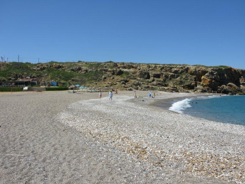 Geropotamos beach. - Geropotamos beach.
