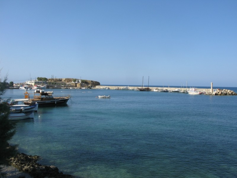 Limin Hersonisos port. - Limin Hersonisos port.