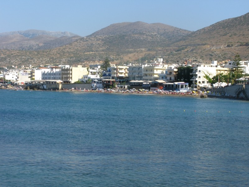 Beach within Limin Hersonisos. - Beach within Limin Hersonisos.