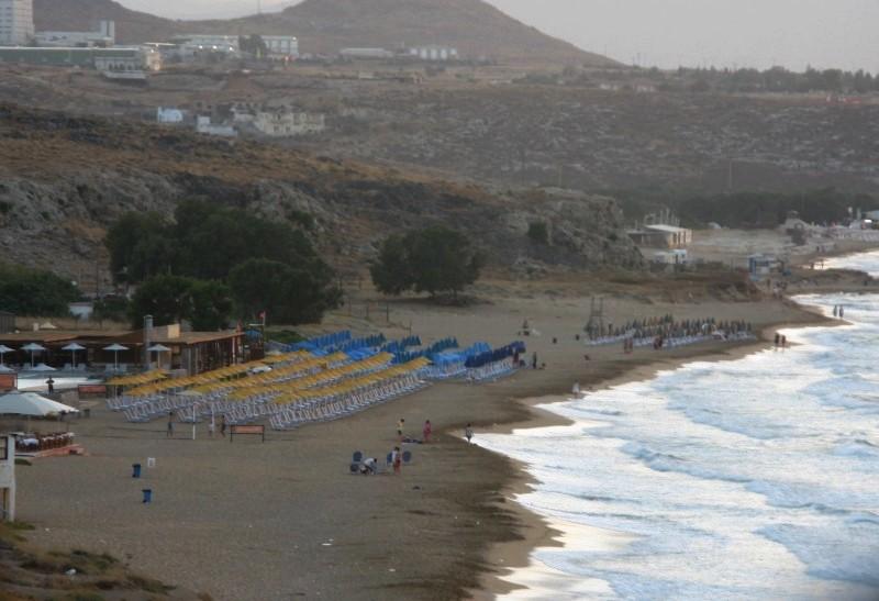 Karteros beach. - Karteros beach.