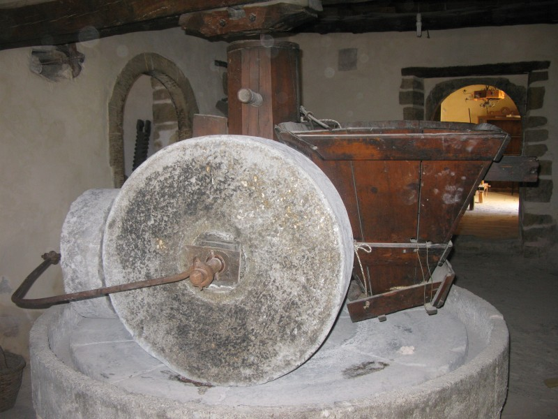 Traditional Olive Mill. - Traditional Olive Mill.