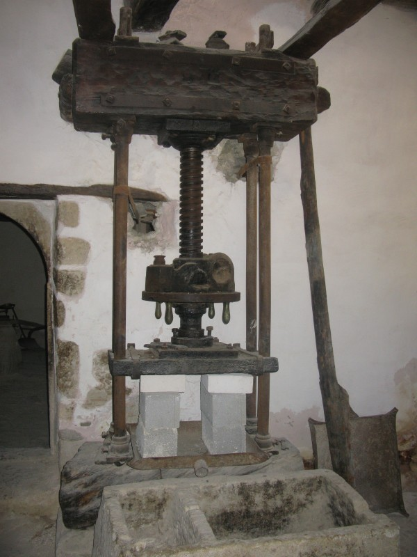 Traditional Olive Press. - Traditional Olive Press.