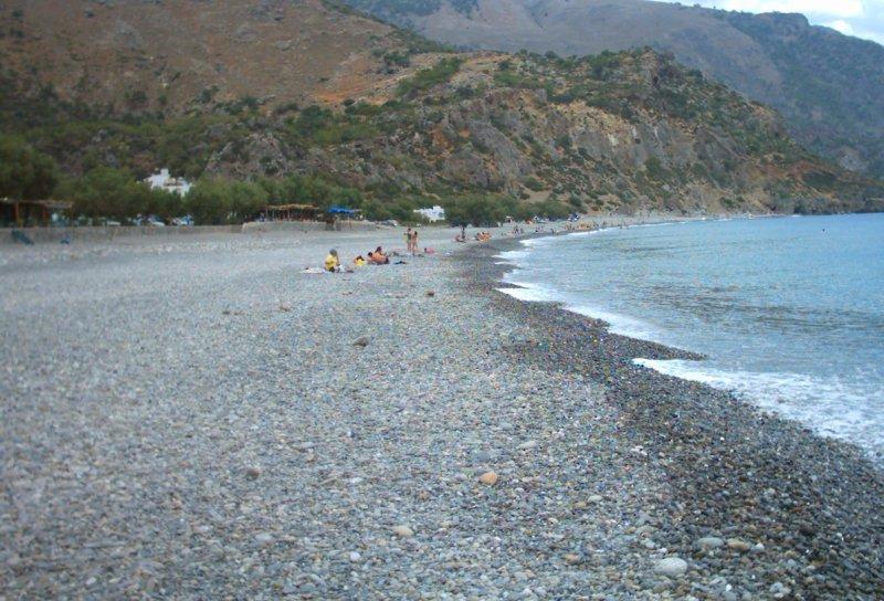 Pebble beach. - Pebble beach.