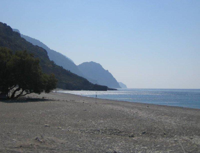 Wide beach. - Wide beach.