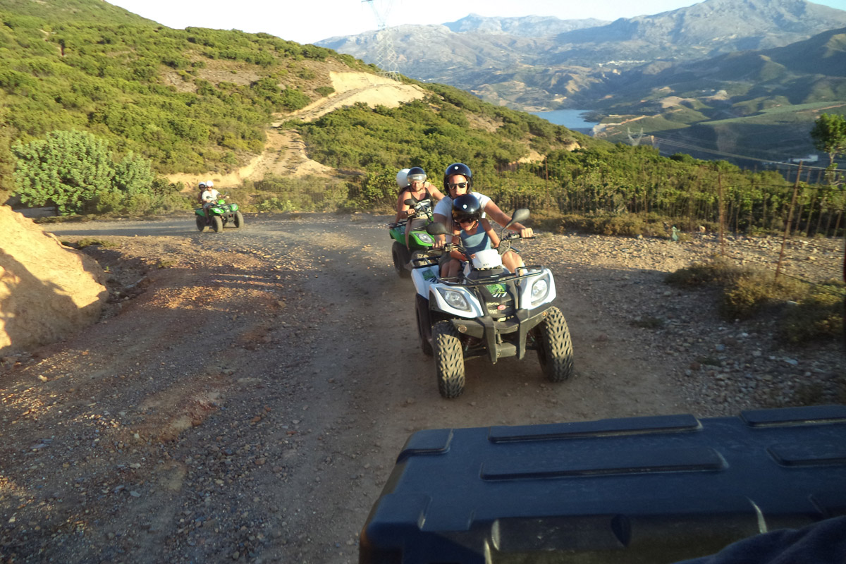 GREAT VIEW GREAT PLACE GREAT QUAD SAFARI RETHYMNO CRETE