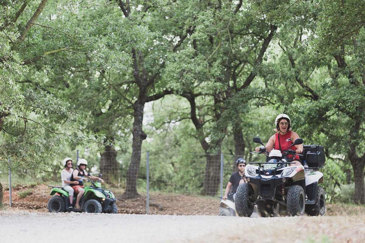 ATV QUAD SAFARI ON THE WAY TO ARKADI MONASTERY