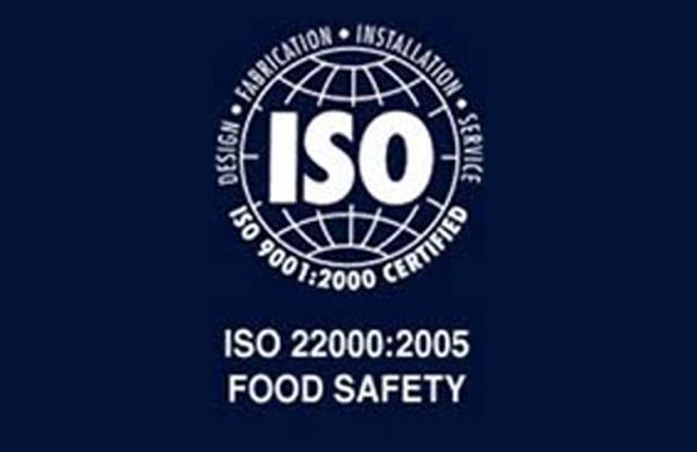 ISO 22000:2005 - HACCP