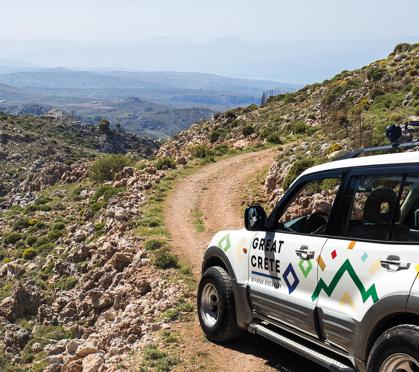 An Authentic Culinary cretan offroad experience
