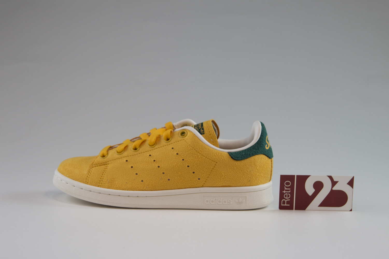 sale retailer 6cd9a 8f2a9 ... adidas stan smith green yellow  mens womens adidas originals stan smith  shoes ...