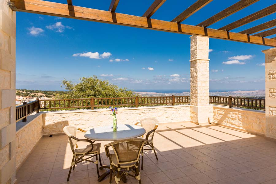 Villa Eleftherna Stone Made Villa In Picturesque Village