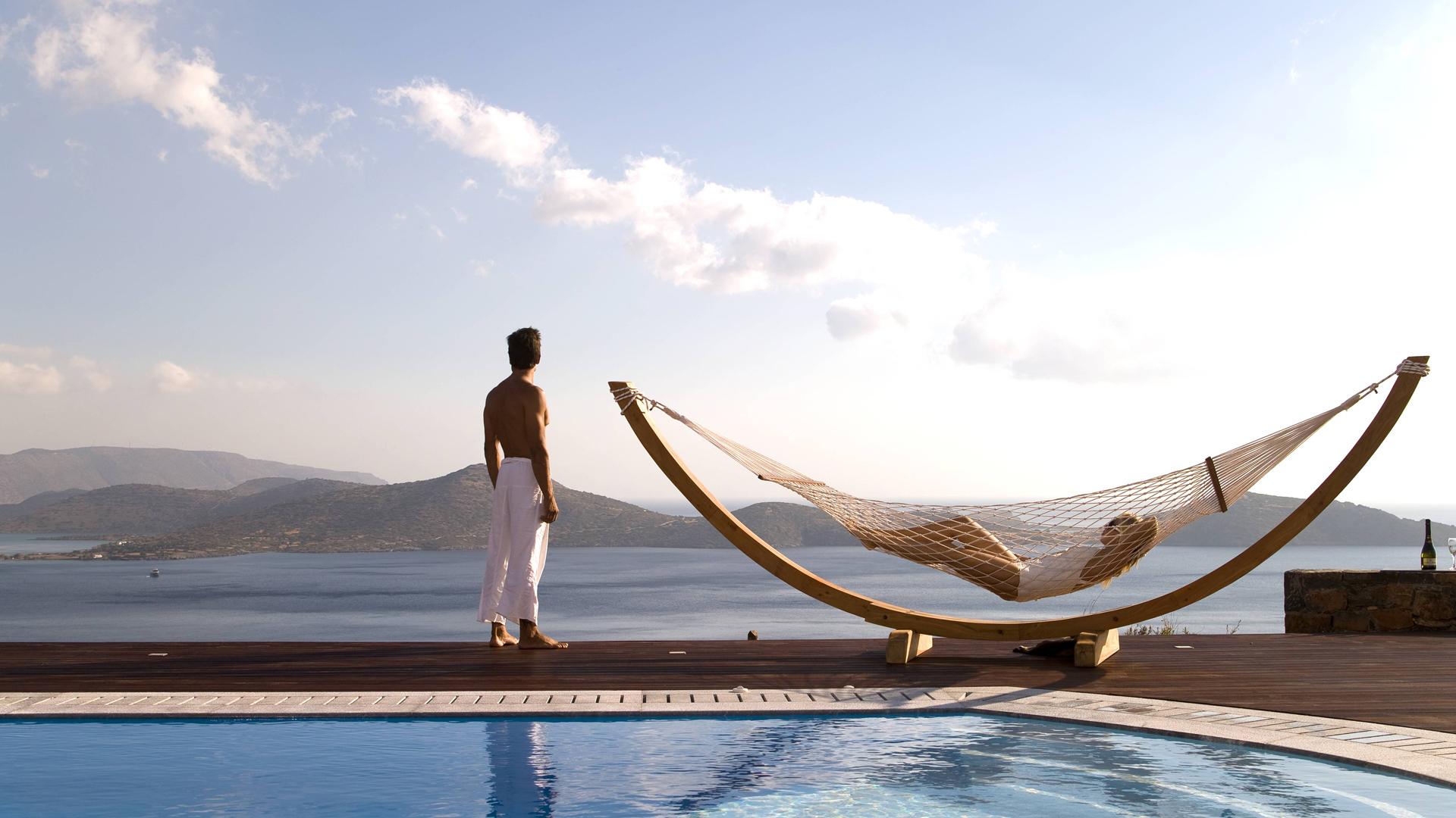 Visit our villas in Elounda