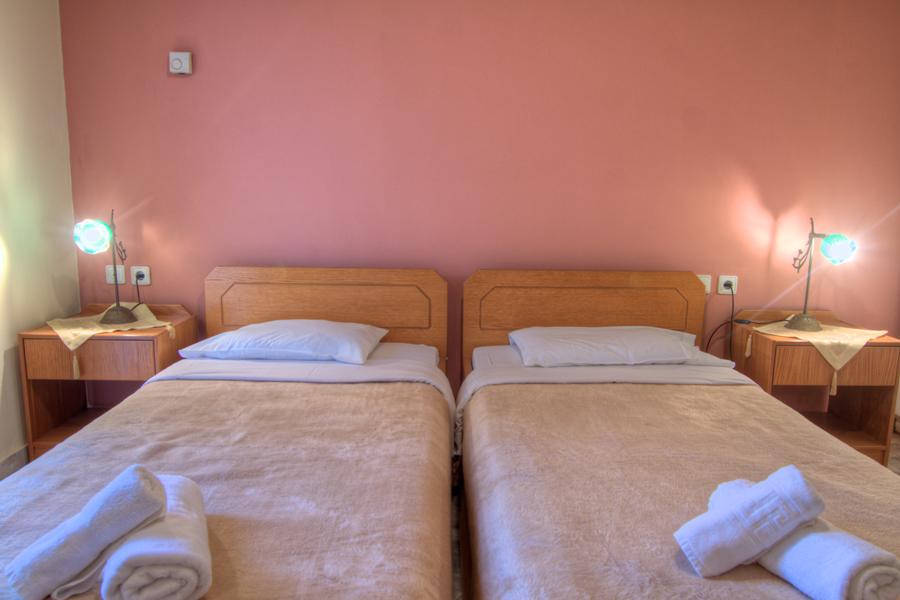 Rooms - First floor twin bedroom