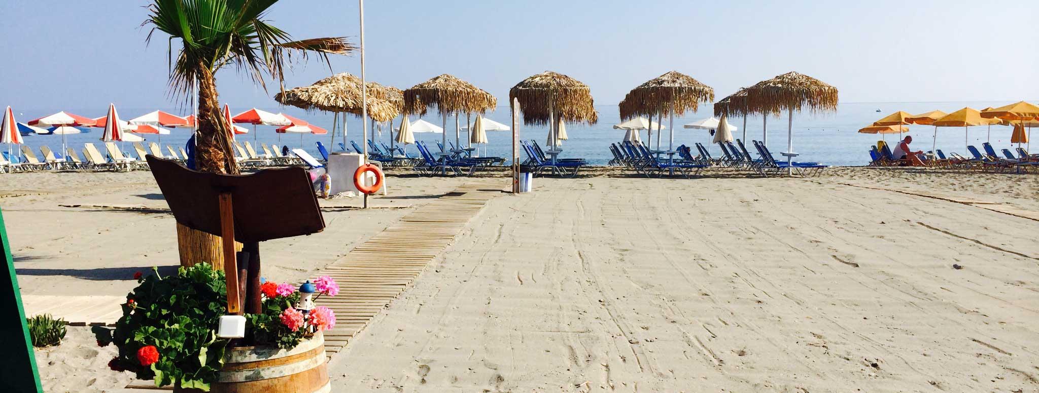 Sonio Beach Hotel - Sonio Beach-Stranden