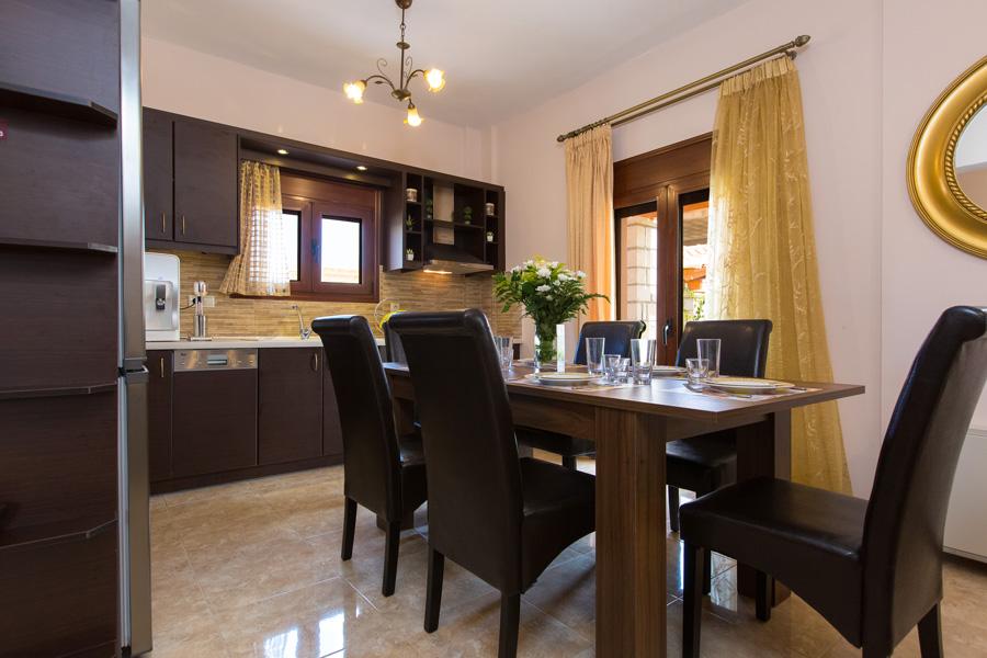 Εσωτερικοί χώροι Villa Maria -