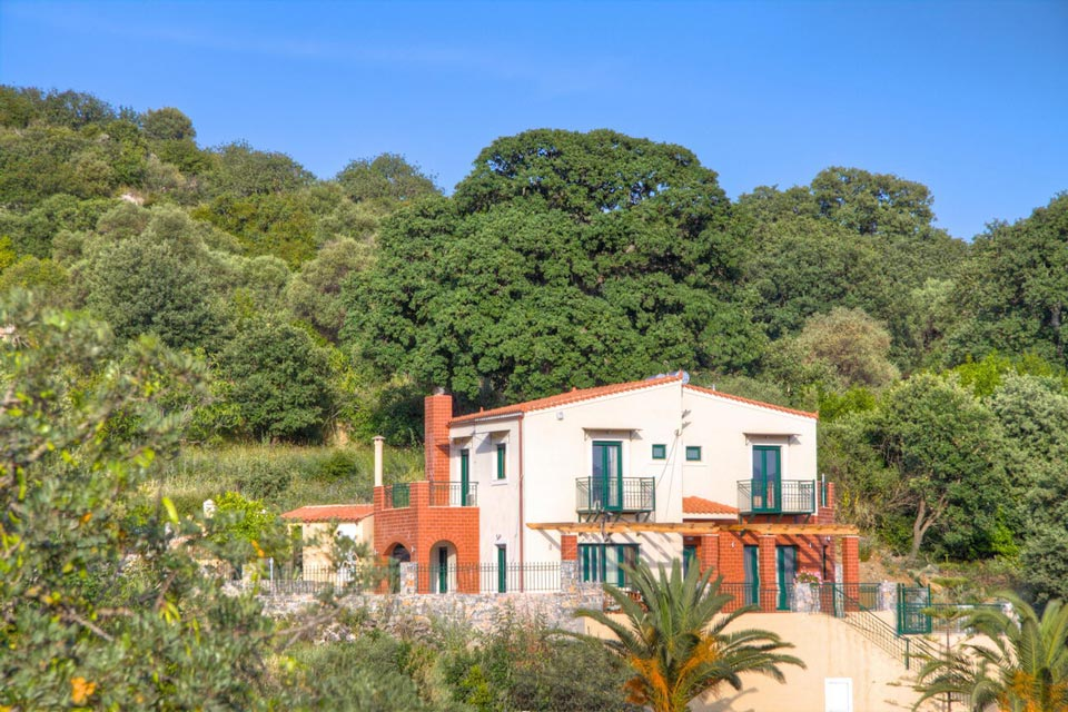 Outdoors - The Villa