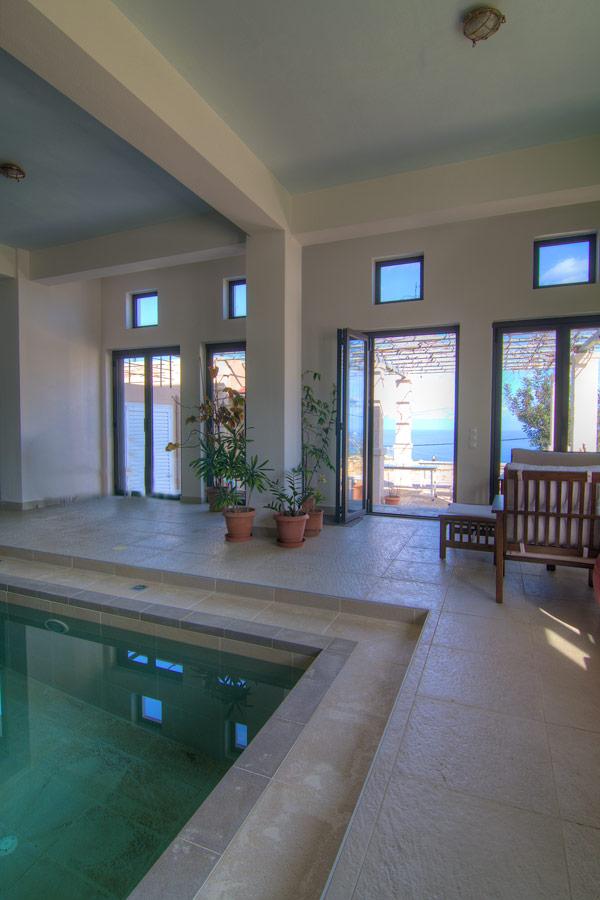 Indoor - Indoor pool with direct access to outdoor