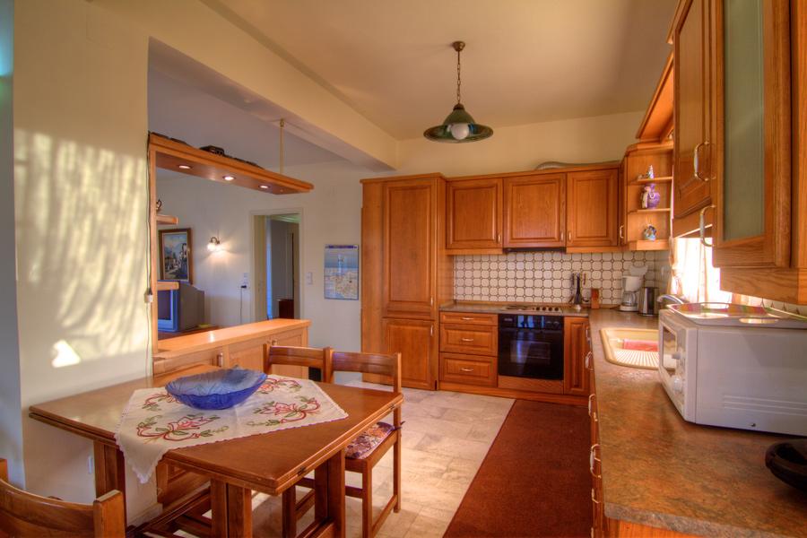 Indoors - Ground floor open-plan kitchen