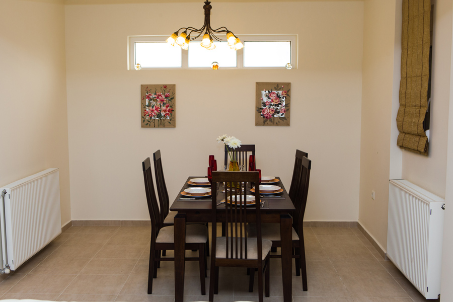 Indoors - Dining area