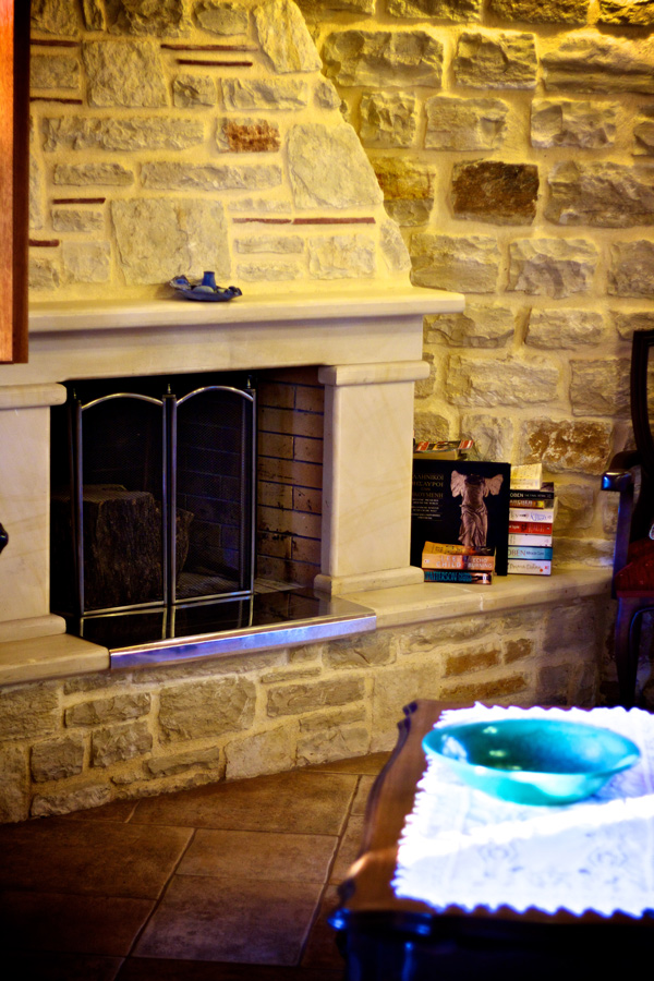 Indoors - Fireplace in the livingroom