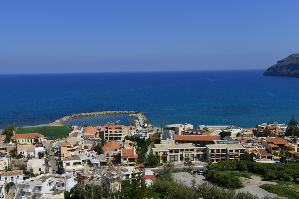 Platanias, the very famous, popular and cosmopolitan village...
