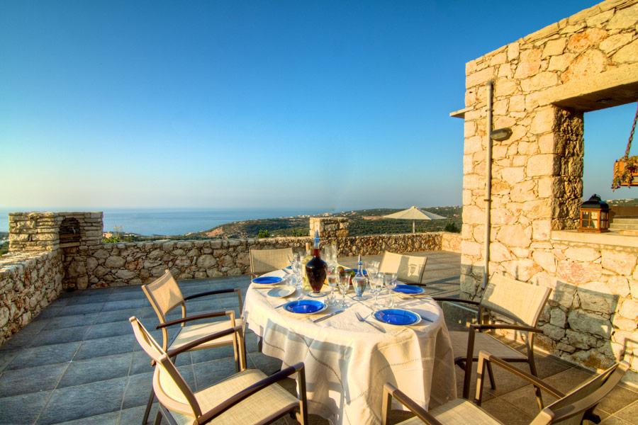 Outdoor - Our veranda with sea view!