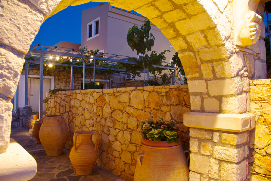Outdoor - Decorated with a traditional touch