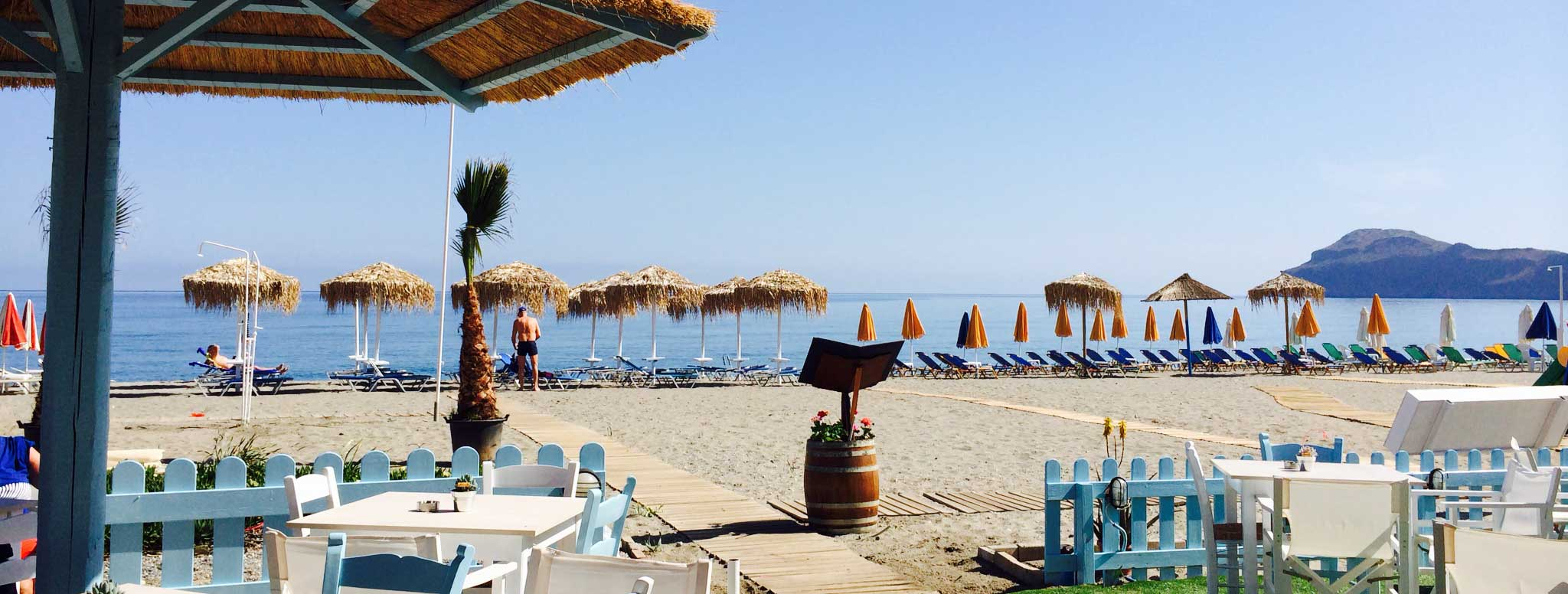 Sonio Beach Hotel - Sonio Beach-Restaurant at beach front